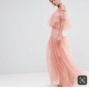 ASOS tulle maxi skirt
